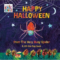 Happy Halloween from the Very Busy Spider - (World of Eric Carle) by Eric Carle (Board_book)