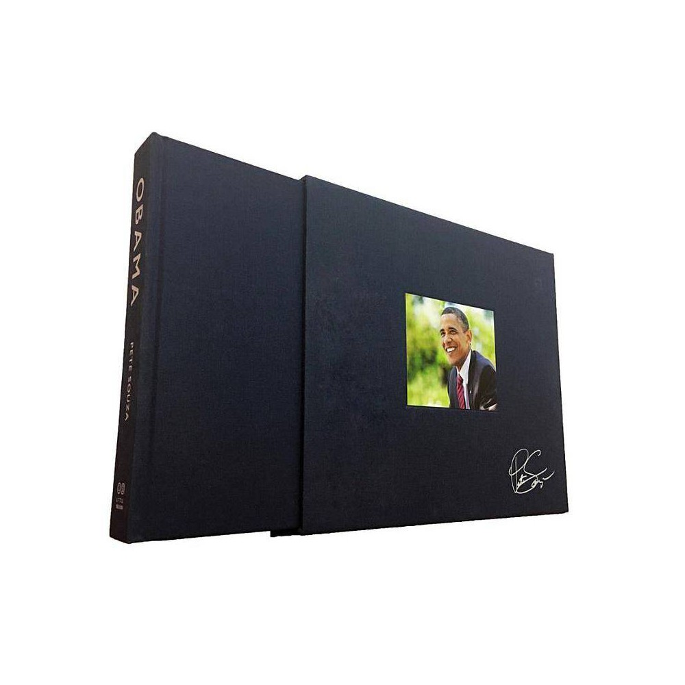 Obama: An Intimate Portrait, Deluxe Limited Edition - by Pete Souza (Hardcover)