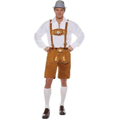 Adult Lederhosen Deluxe Halloween Costume