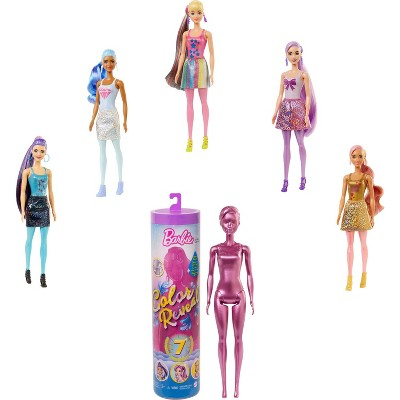 ​Barbie Color Reveal Shimmer Series Doll
