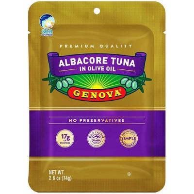 Genova Albacore Tuna in Olive Oil Pouch - 2.6oz