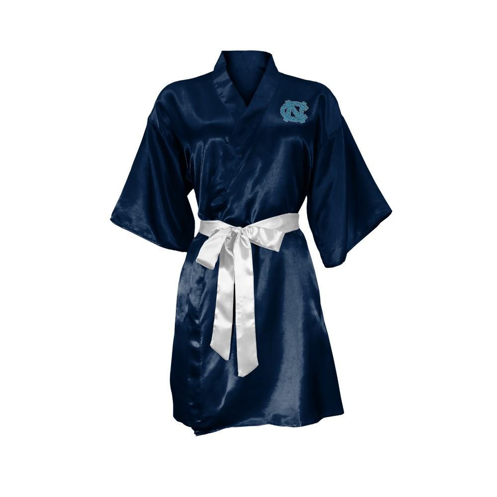 NCAA North Carolina Tar Heels Little Earth Satin Kimono - S/M