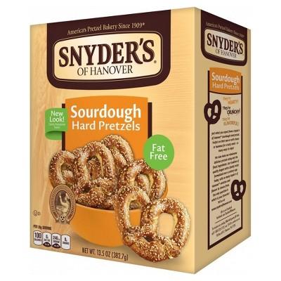 Pretzels: Snyder's Sourdough Hard Pretzels