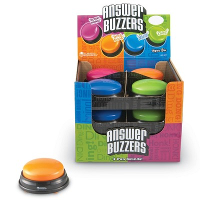 Learning Resources Answer Buzzers - Set of 12 in Display