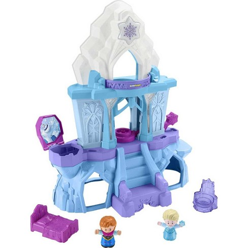 Fisher-Price Little People Disney Frozen Elsa's Enchanted Lights Palace - image 1 of 4