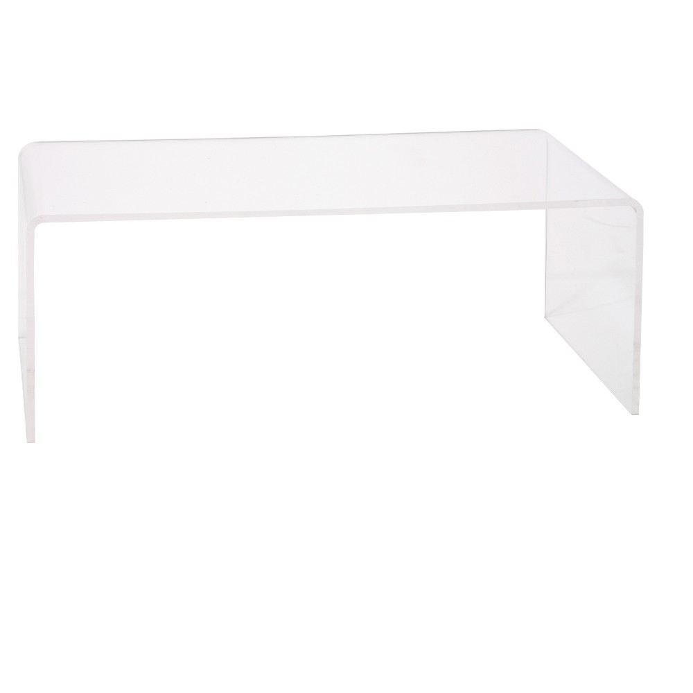 Hamilton Home Lucite Tall Coffee Table - Clear