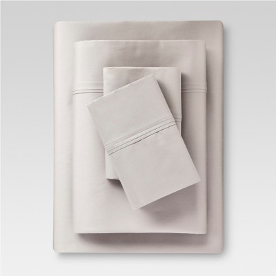 Performance Sheet 400 Thread Count Sheet Set Gray - (King)- Threshold™