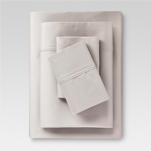Performance Sheet Set Solids 400 Thread Count - Threshold™ - image 1 of 2