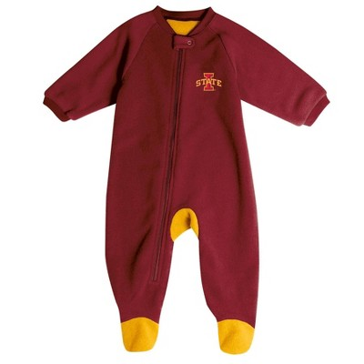 NCAA Iowa State Cyclones Baby Boys' Blanket Sleeper - 0-3M