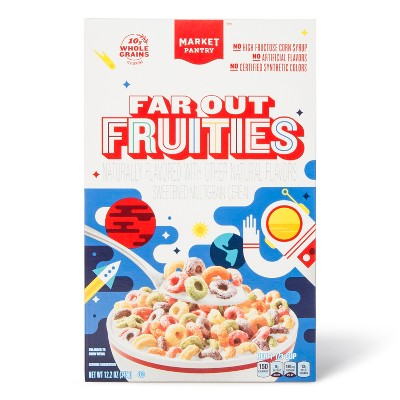 Far Out Fruities Breakfast Cereal - 12.2oz - Market Pantry™