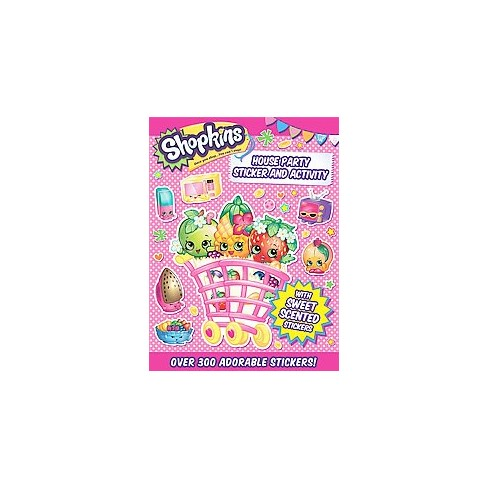 Shopkins House Party Sticker and Activity - (Paperback) - image 1 of 1