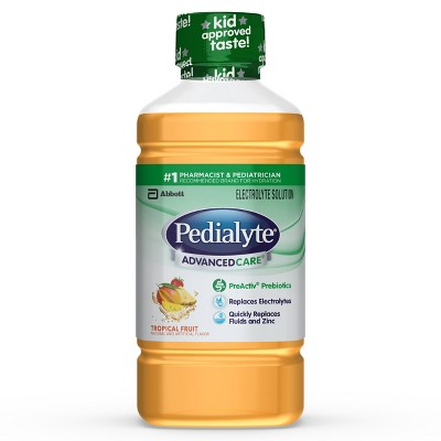 Pedialyte Advanced Care, Tropical Fruit - 1L