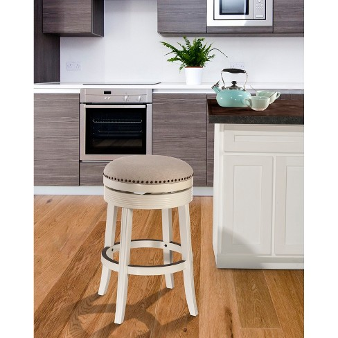 Tillman Swivel 30 Counter Stool Woodwhite Hillsdale Furniture