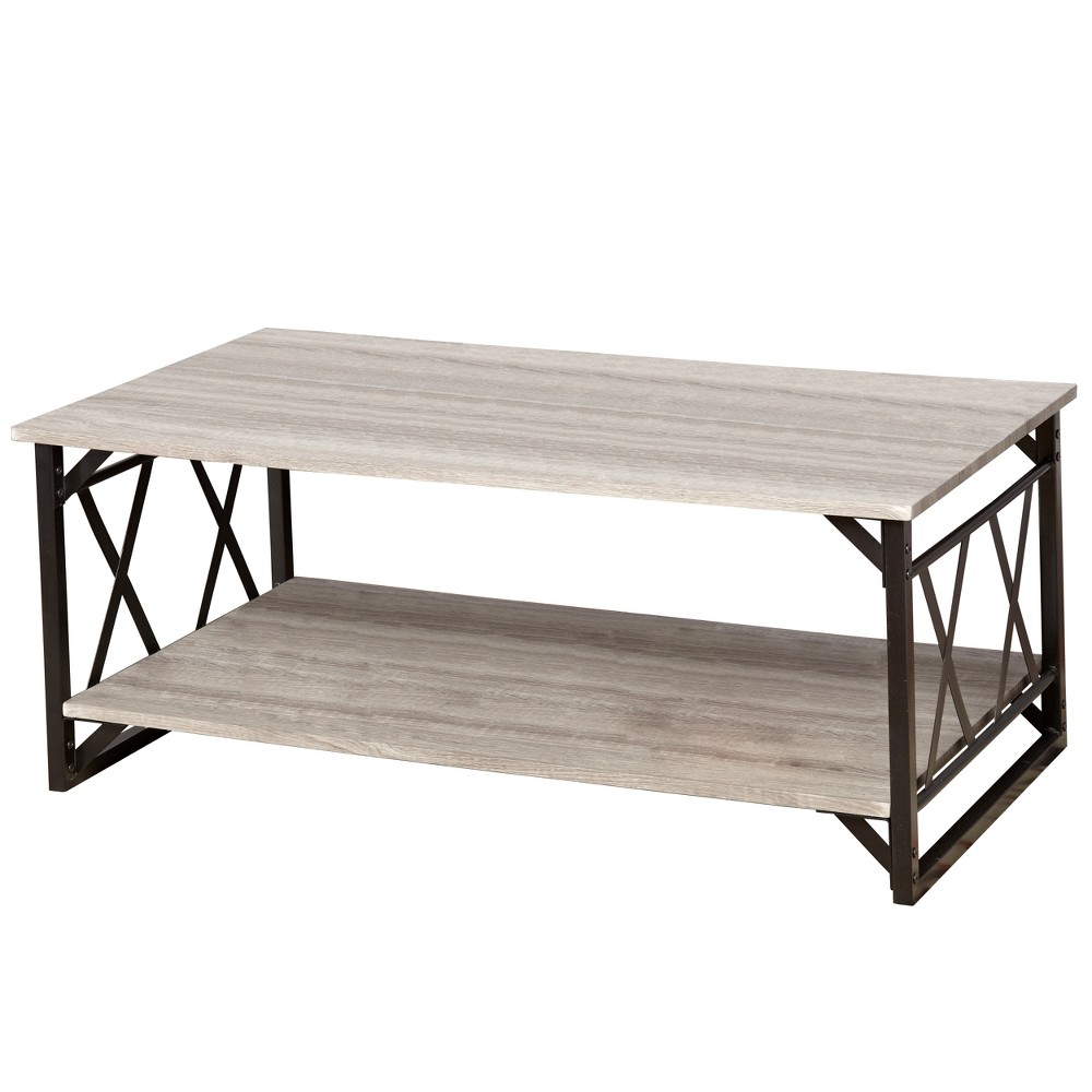 Seneca XX Cocktail Table Black/Gray - Buylateral was $159.99 now $79.99 (50.0% off)