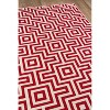4'X6' Geometric Woven Accent Rug Red - Momeni - image 2 of 4