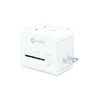 Macally Portable International Travel Universal Power Plug Adapter