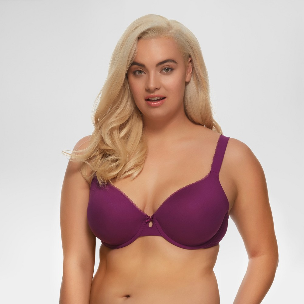 Paramour Women's Sensational T-Shirt Bra - Purple 36DD