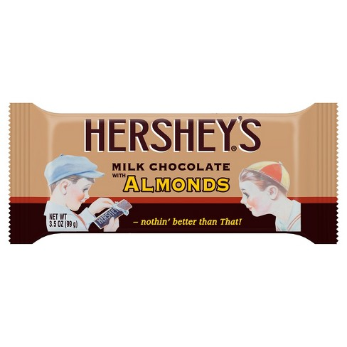 HERSHEY'S Almond Milk Chocolate Nostalgia Bar - 3.5oz - image 1 of 1