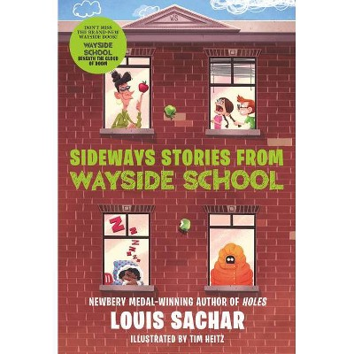 Sideways Stories from Wayside School - (Wayside School) by Louis Sachar (Paperback)