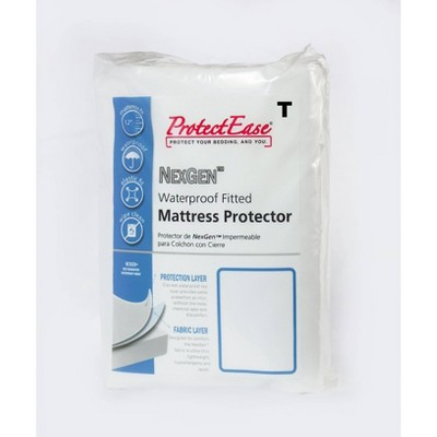 NexGen Waterproof Fitted Mattress Protector - ProtectEase