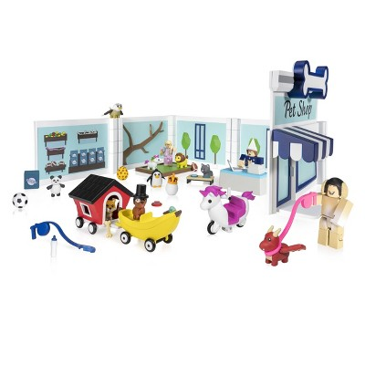 Roblox Celebrity Collection - Adopt Me: Pet Store Deluxe Playset (Includes Exclusive Virtual Item)