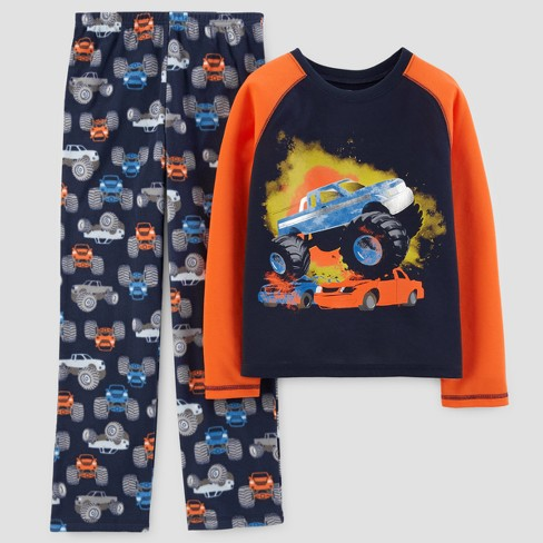 920f05086c4d Just One You™ Made By Carter s® Boys  2pc Monster Trucks Pajama Set ...