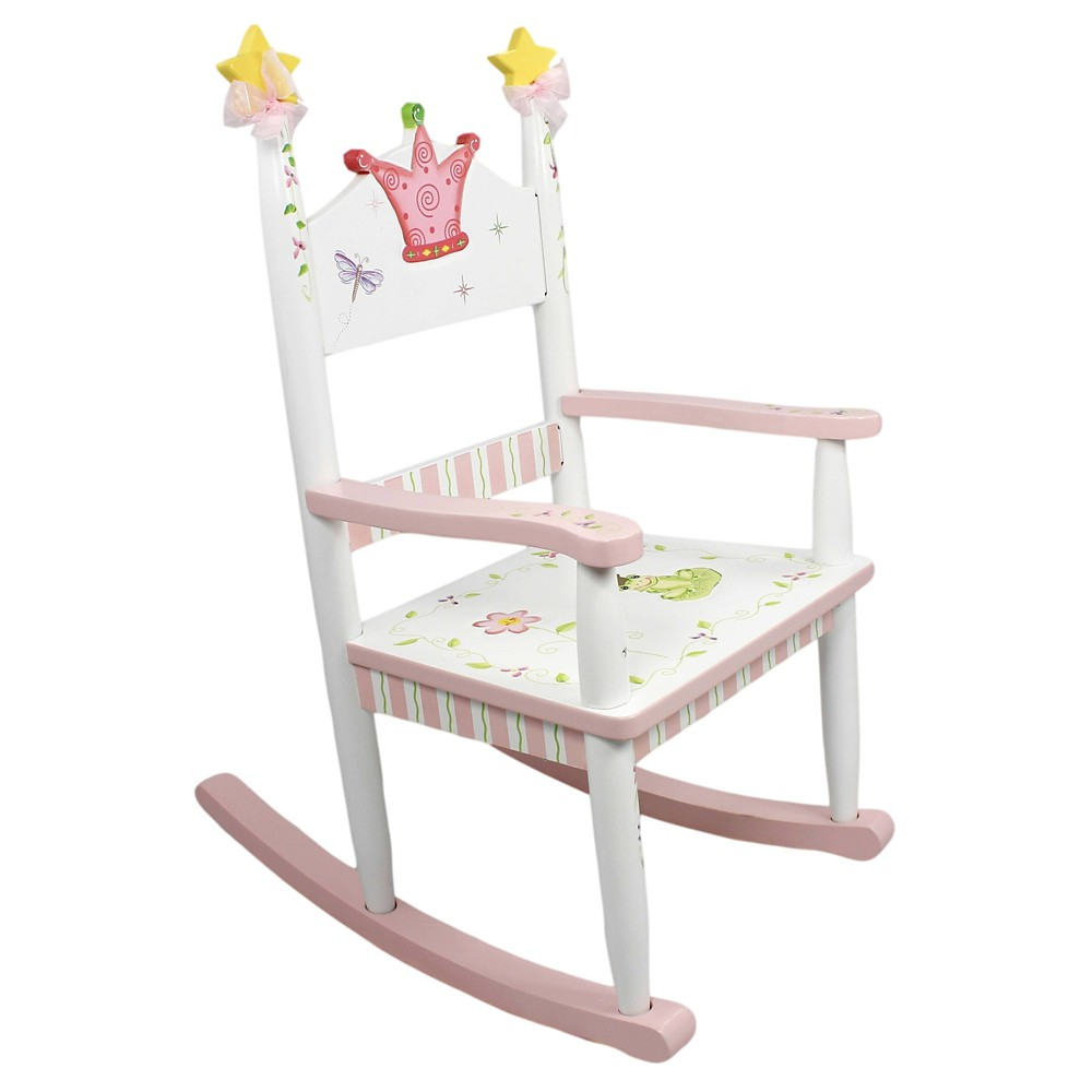 Image of Fantasy Fields Princess & Frog Rocking Chair - Teamson