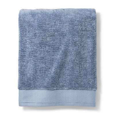 Bath Sheet Reserve Solid Bath Towels And Washcloths Spa Blue - Fieldcrest®