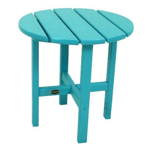 POLYWOOD Round Patio Side Table Target - Polywood coffee table