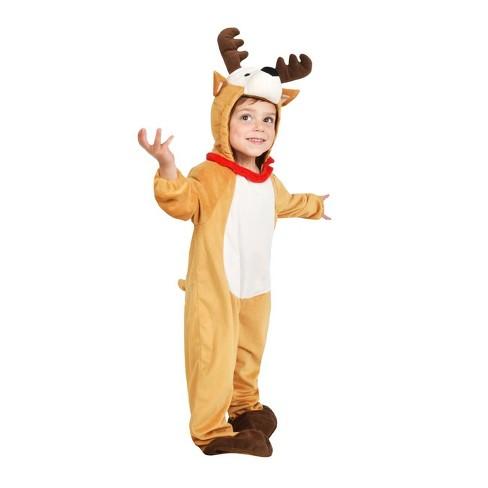 a72617a42304 Baby Plush Reindeer Jumpsuit Costume - Wondershop™   Target