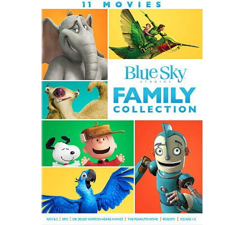 Blue Sky 11 Movie Family Collection (DVD) - image 1 of 1