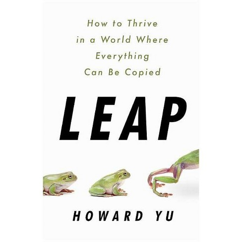 Leap - by  Howard Yu (Hardcover) - image 1 of 1