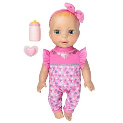 Luvabella Newborn Interactive Baby Doll - Blue Eyes
