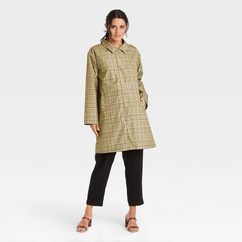 Women's Hoodless Rain Coat - A New Day™ - image 1 of 3