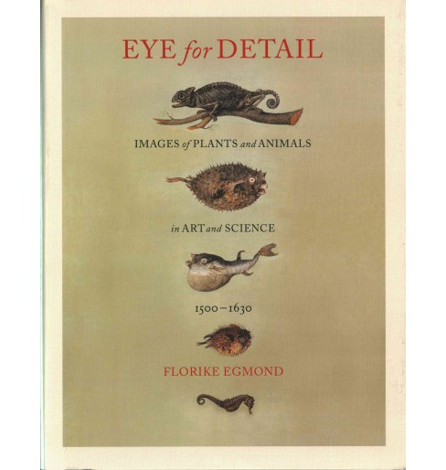 Eye for Detail : Images of Plants and Animals in Art and Science, 1500-1630 (Hardcover) (Florike Egmond) - image 1 of 1