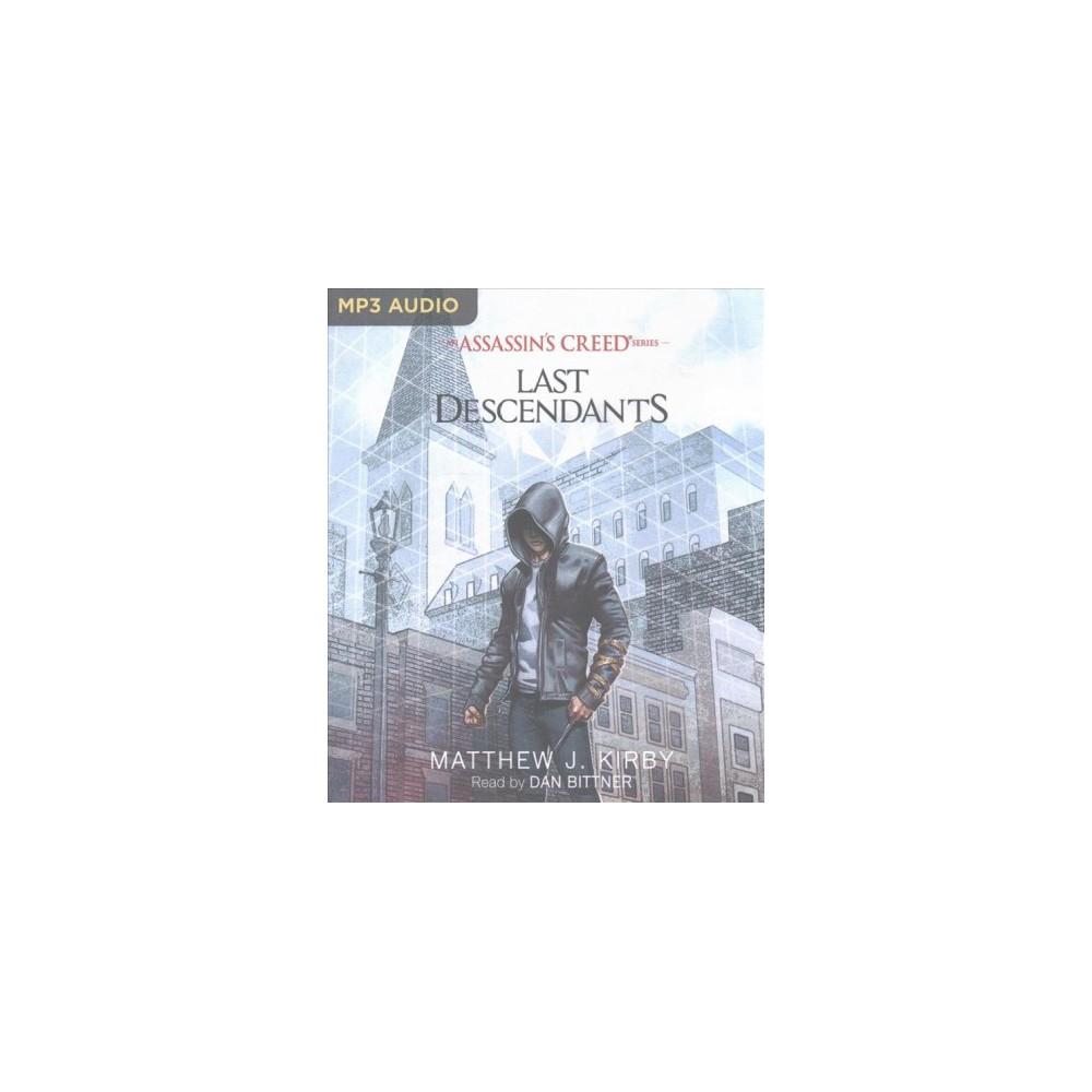 Last Descendants (MP3-CD) (Matthew J. Kirby)