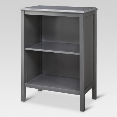 Windham 2 shelf bookcase - Gray - Threshold™