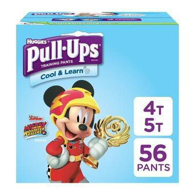 Huggies Pull-Ups Boys' Cool & Learn Training Pants - Size 4T-5T (56ct)
