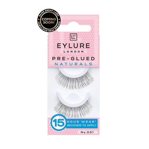 e2dae1e32f4 Eylure False Eyelashes Pre-Glue Natural 031 - 1pr : Target
