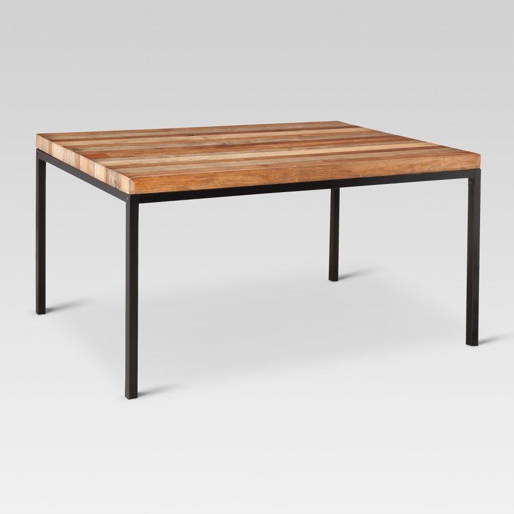 Hernwood 60 Dining Table Brown - Threshold
