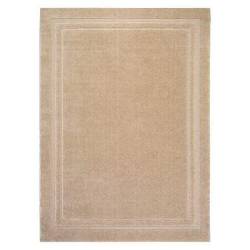 Lisbon Border Area Rug - Tan (5'X7') - image 1 of 3