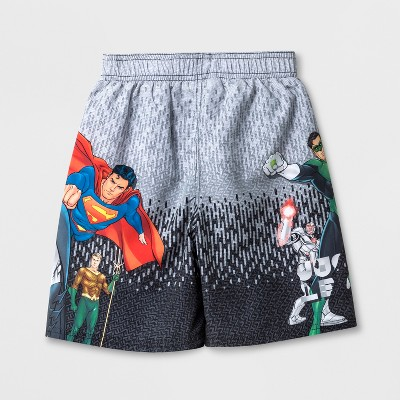 Boys' Justice League Swim Trunks - XL, Boy's, MultiColored
