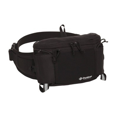 """Outdoor Products 2.3"""" Ibiza Carry Sling Pack - Black"""