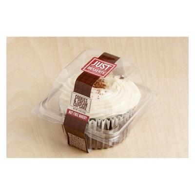 Just Desserts Cookies & Cream Cupcake - 4.4oz