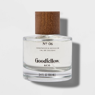 No.6 Cedarwood & Geranium Men's Cologne - 3.4 fl oz - Goodfellow & Co™