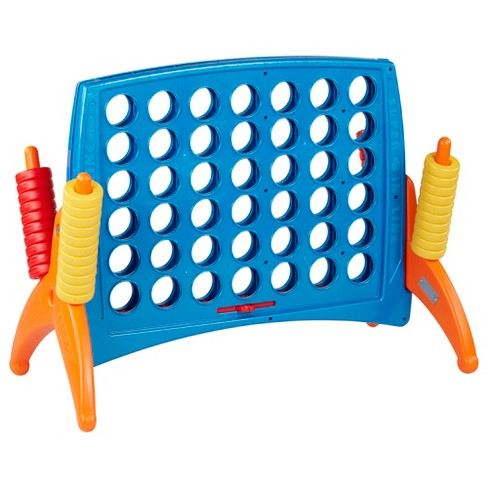 ECR4Kids Junior 4-To-Score Game-Indoor/Outdoor 4-In-A-Row for Kids & Adults - image 1 of 4