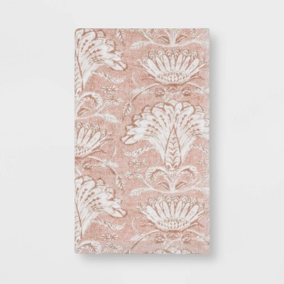 Floral Flat Woven Hand Towel Blush - Threshold™