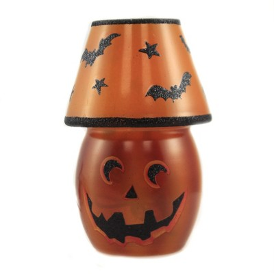 "Stony Creek 5.75"" Halloween Pre-Lit Lamp Bats Stars Jack-O-Lantern  -  Decorative Vases"