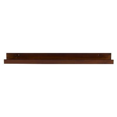Decorative Wall Shelf - Walnut