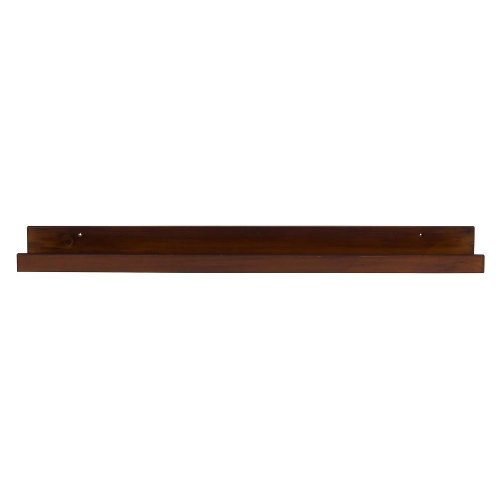 Decorative Wall Shelf - Walnut (Brown)